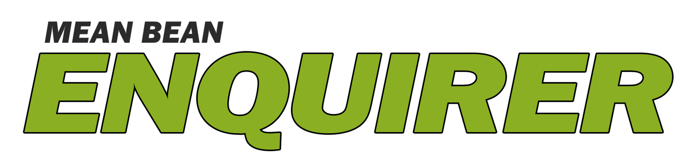 Mean Bean Enquirer Logo